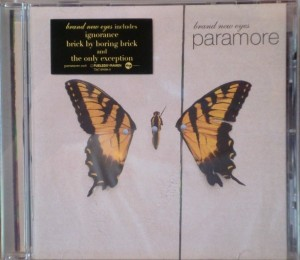 Brand New Eyes omslag