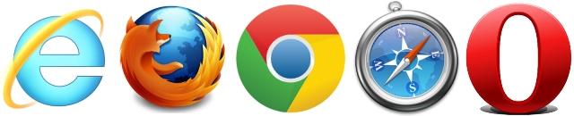 uppgradera webbläsare